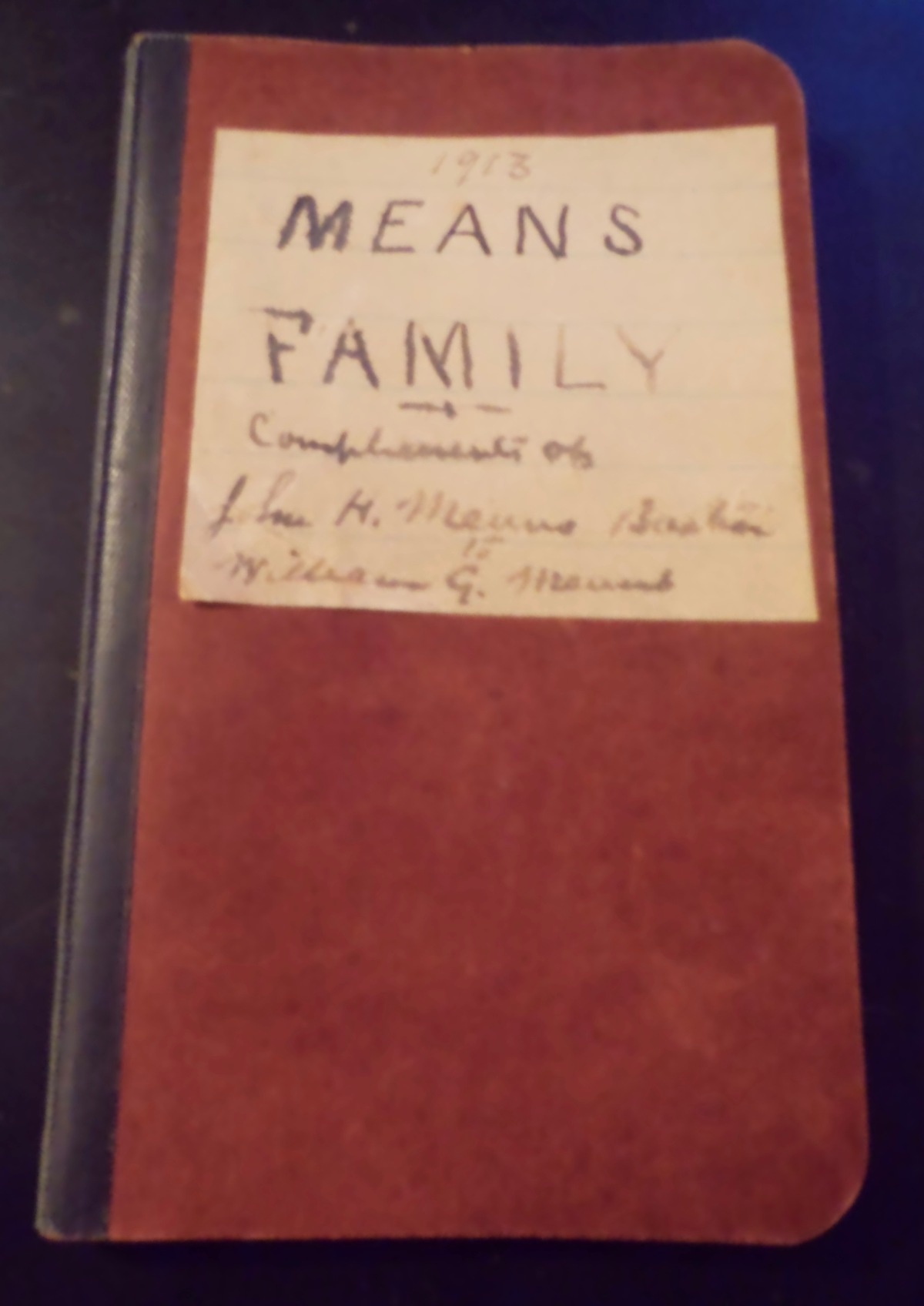 1913. The Means Family